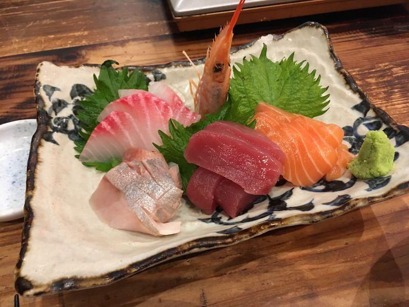 3品目:刺身盛り合わせ (Special Assorted Sashimi)