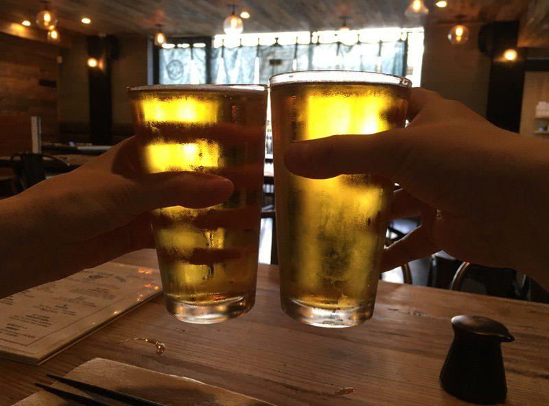 3ドルのキリン生ビールで乾杯!