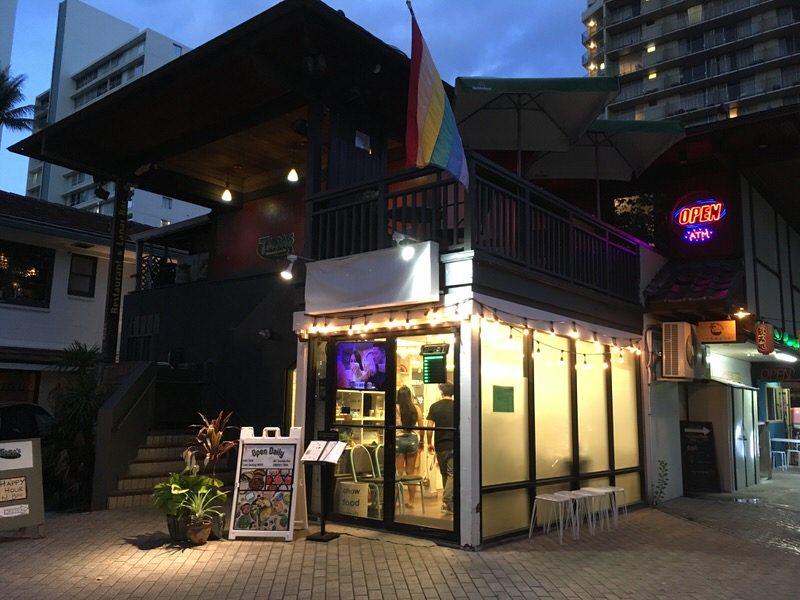 スイートホームカフェ ワイキキのお店外観