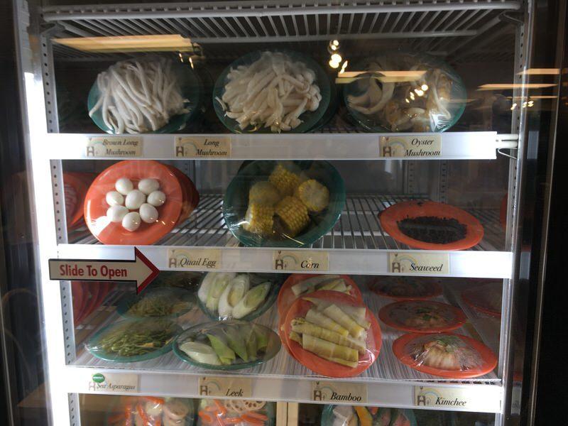 スイートホームカフェの具材 きのこ、野菜 その2