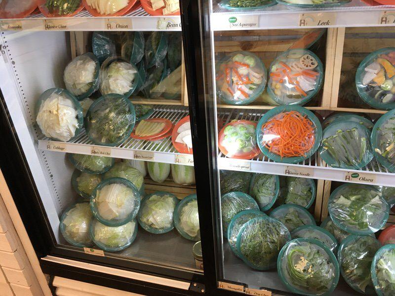 スイートホームカフェの具材 いろいろな青い野菜 その2