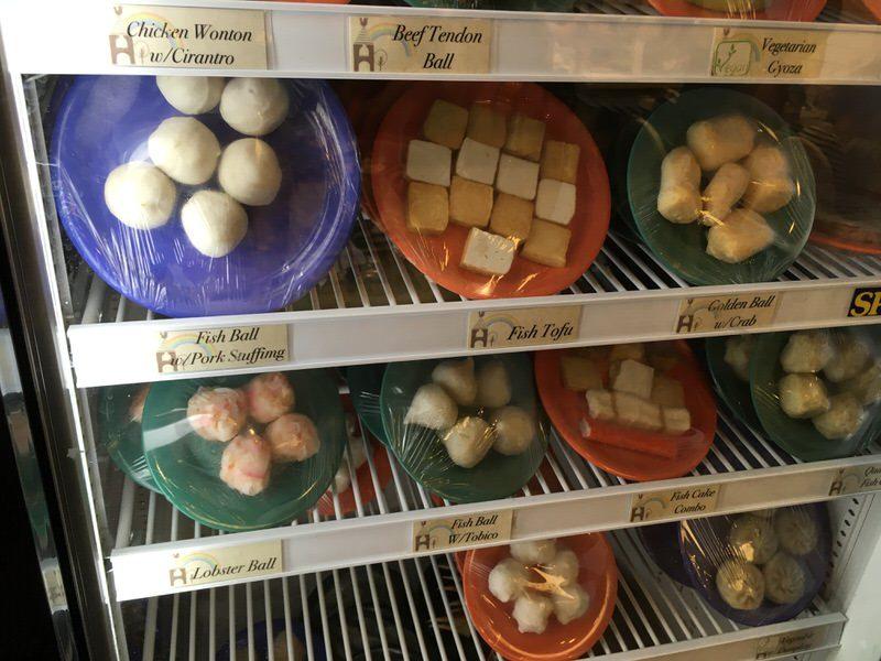 スイートホームカフェの具材 練り物、豆腐