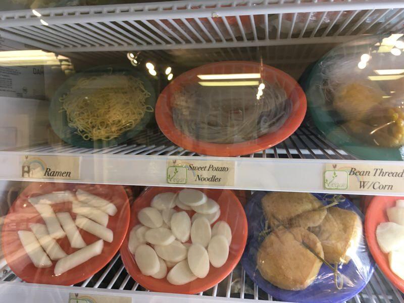 スイートホームカフェの具材 麺類など