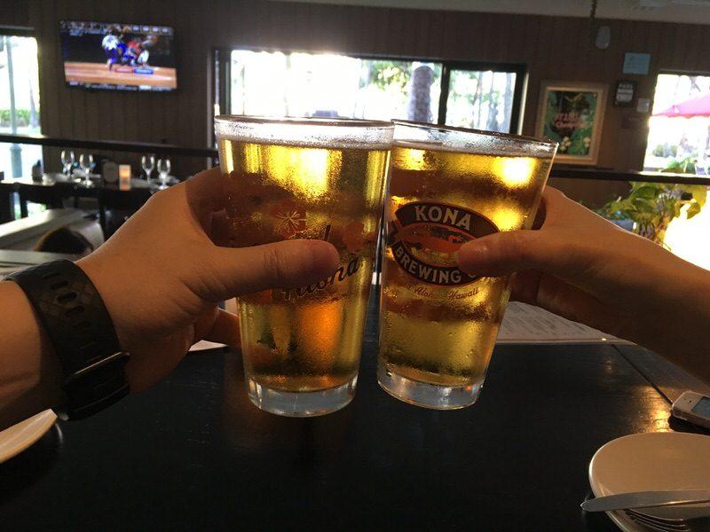 イタリアビールのペローニ5ドルで乾杯!