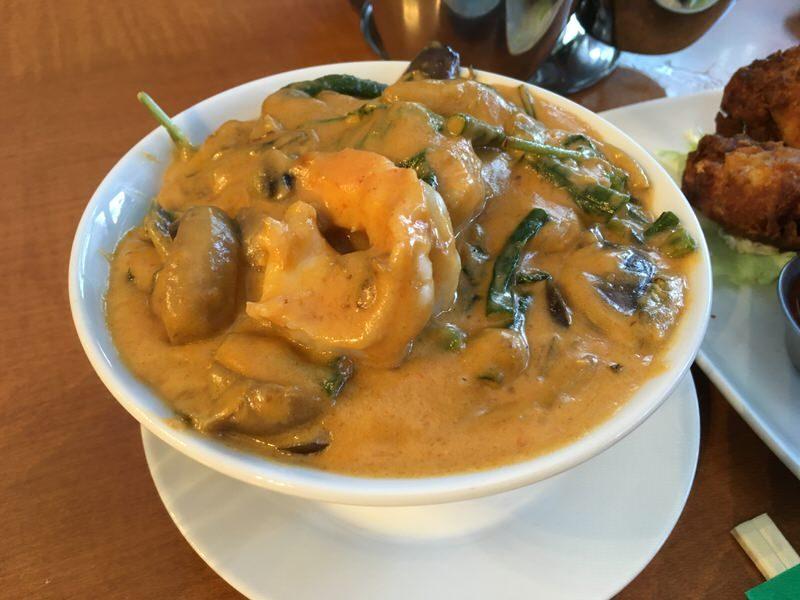 26. Panang Curry with Shrimp 14.95ドル