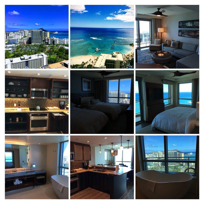 ハワイ・オアフ島 グランドアイランダー 3ベッドルームペントハウス 3801号室