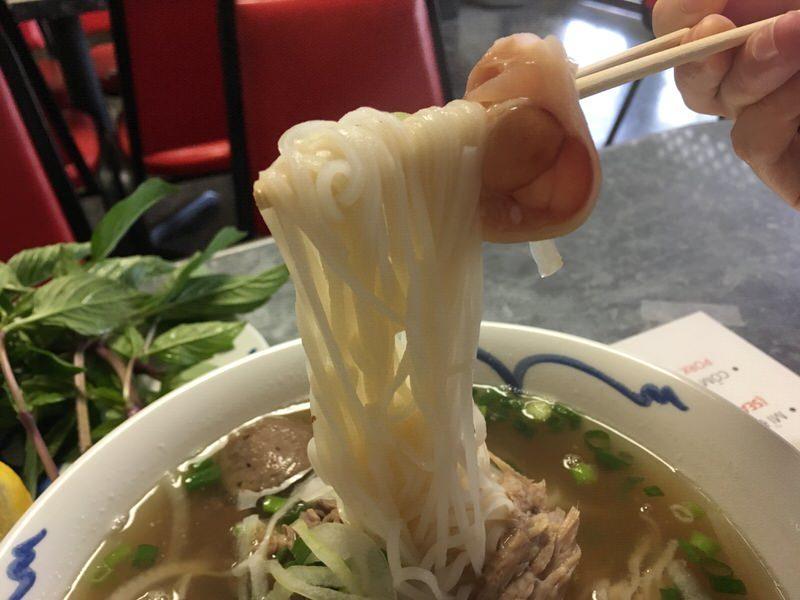 フォーの麺