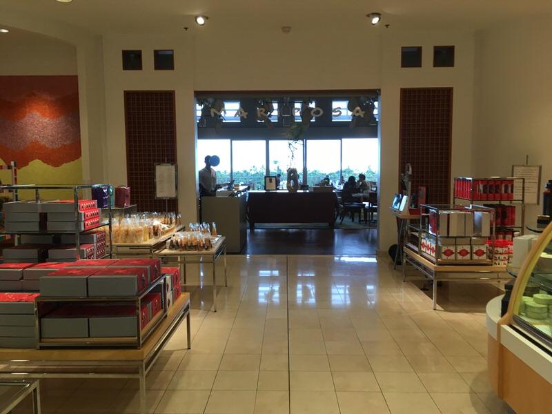 ニーマンマーカス3階にあるマリポサのお店入口