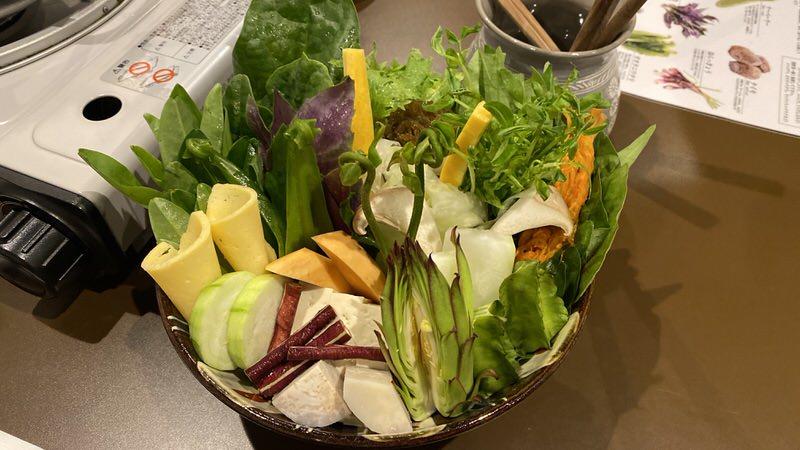 色とりどりの島野菜