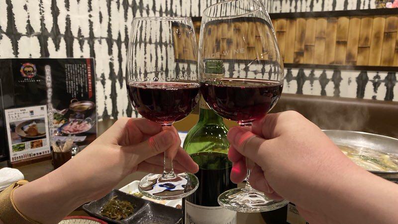ヤマナシ・デ・グレースで乾杯!