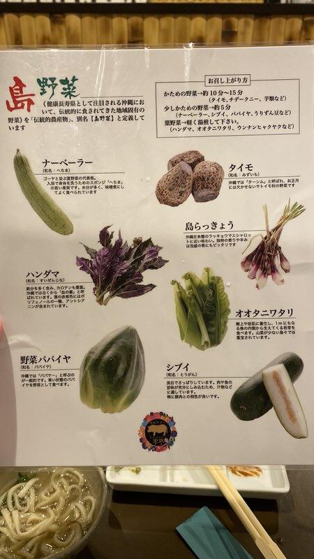 島野菜の解説シート1